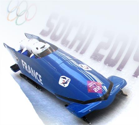 Équipe de France de Bobsleigh au Jeux Olympiques de Sotchi en 2014